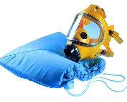 Wash bag breathing mask