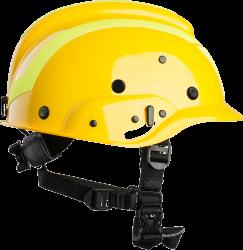 Vallfirest Firefighter Helmet VFT1 fluor geel
