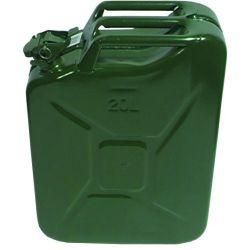 Staal jerrycan groen