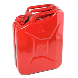 Jerrycan 20 ltr. steel red