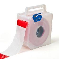 Barrier tape dispenserbox white