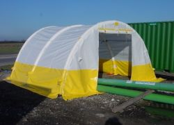 Inflatable tent 4x4