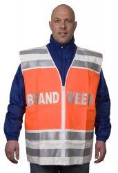 Traffic Vest white +  firefighting