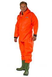 Waadpak oranje brandvertragend incl. handschoenen
