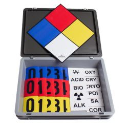 Gevarendiamant set magnetisch in box