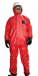 Microgard CFR overall rood met capuchon 3XL